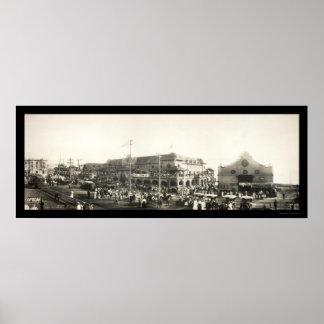 Parade Redondo Beach Photo 1910 Poster