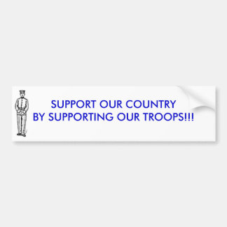 paraderest_18336_th, SUPPORT OUR COUNTRY BY SUP... Bumper Sticker