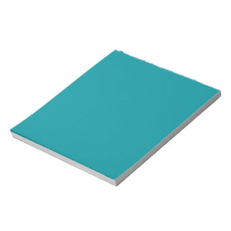 Paradingly Posh Teal Color Notepad