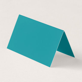 Paradingly Posh Teal Colour Business Card