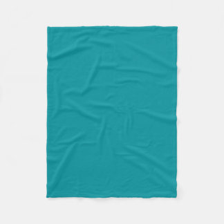 Paradingly Posh Teal Colour Fleece Blanket
