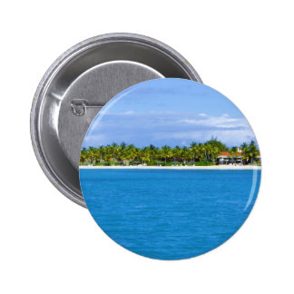 Paradise 6 Cm Round Badge