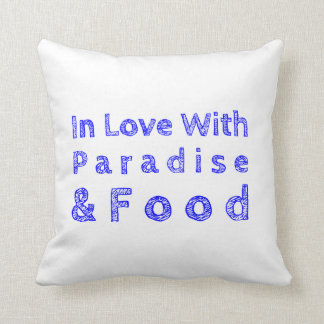 Paradise and Food Pillow