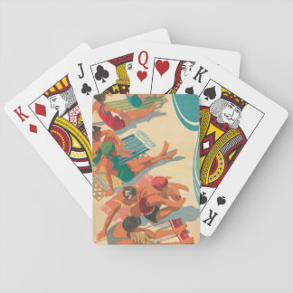 Paradise Beach Club Playing Cards