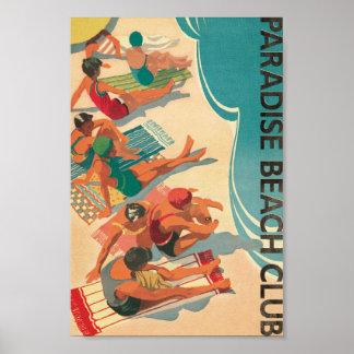 Paradise Beach Club Poster