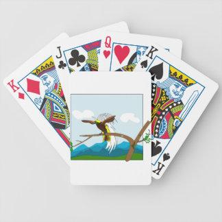 Paradise Bird Bicycle Playing Cards