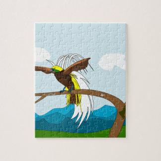 Paradise Bird Jigsaw Puzzle
