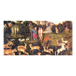 Paradise By Cranach D. Ä. Lucas (Best Quality) Photo Greeting Card