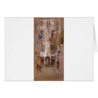 Paradise Court by James McNeill Whistler Card