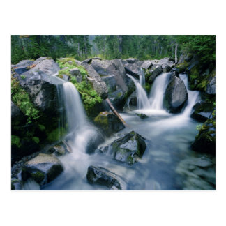 Paradise Creek flows down slopes of Mount Postcard