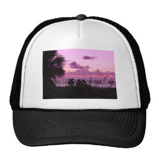 Paradise Day Ends Trucker Hats
