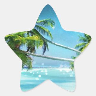 Paradise Dreams Star Sticker