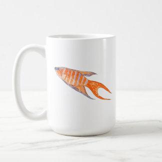 Paradise Fish Watercolor Mugs