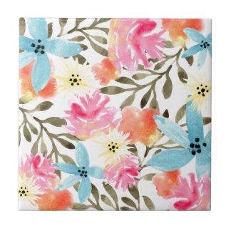 Paradise Floral Ceramic Tile