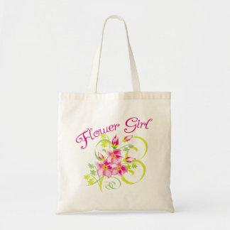 Paradise Flowergirl Tote Bag