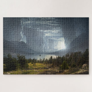 Paradise in a Cave Jigsaw Puzzle