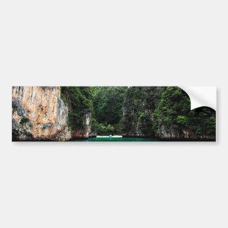 Paradise in Thailand Bumper Sticker
