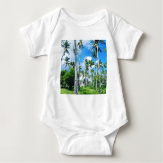 Paradise in the Pacific Baby Bodysuit