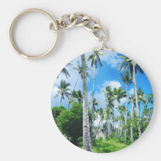 Paradise in the Pacific Key Ring