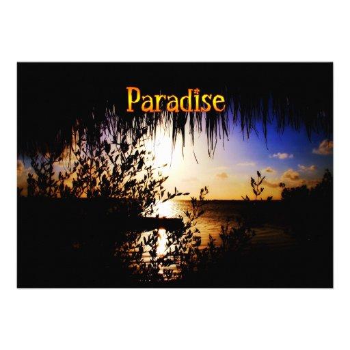 Paradise Card
