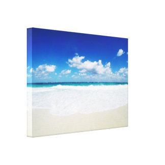 Paradise Island Beach Canvas Print