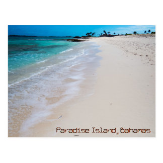 Paradise Island Beach Postcard