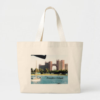 Paradise Island Large Tote Bag