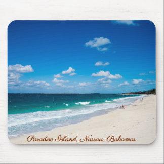 Paradise Island, Nassau, Bahamas | Beach Mouse Pad