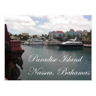 Paradise Island Postcard