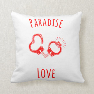 Paradise Love Polyester Throw Pillow