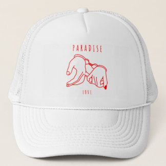 Paradise Love Trucker Hat