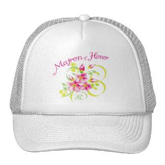 Paradise Matron of Honor Favors Trucker Hat