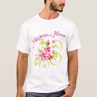 Paradise Matron of Honor T-shirts. Gifts T-Shirt