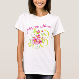 Paradise Matron of Honor Tee