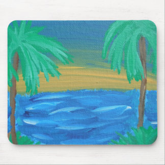 Paradise mouse pad