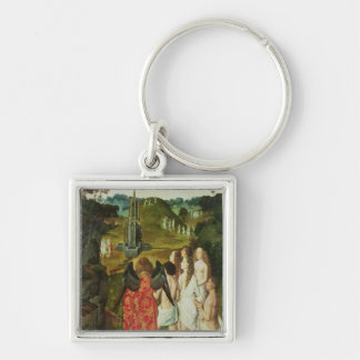 Paradise of the Symbolic Fountain Keychains