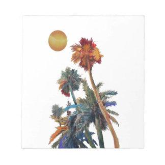 Paradise Palms Notepad