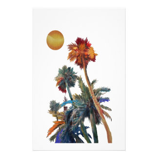 Paradise Palms Stationery