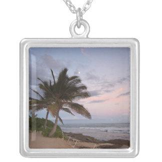 Paradise Palms Sunset Hawaii Pendants