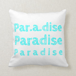 Paradise Polyester Throw Pillow