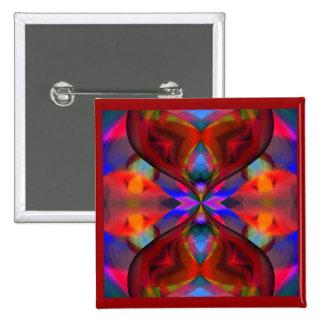 Paradise Poppy 15 Cm Square Badge