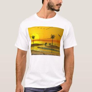 Paradise Shore Sunset T-Shirt