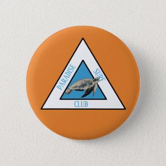 Paradise Surf Club 6 Cm Round Badge