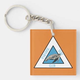 Paradise Surf Club Key Ring