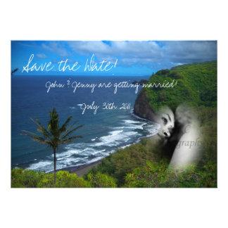 Paradise Theme Invitation