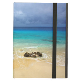 Paradise tropical island white sand beach iPad air cover