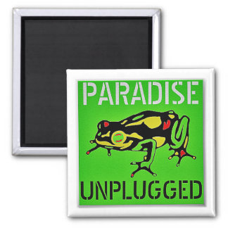 Paradise Unplugged Big Island Hawaii Magnet