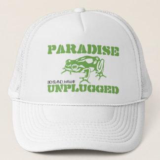 PARADISE UNPLUGGED - BIG ISLAND, HAWAII TRUCKER HAT