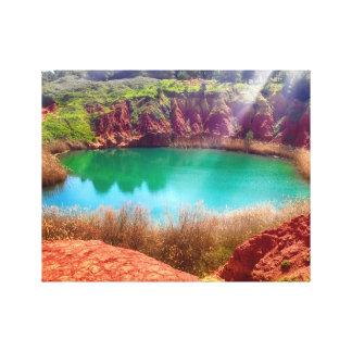 Paradise's Colors Canvas Print
