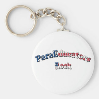 PARAEDUCATORS ROCK KEY RING